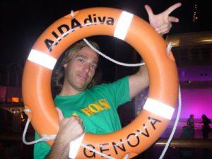 DJ Hoasi auf AIDA diva